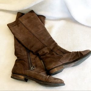 Steve Madden suede knee high boots 10